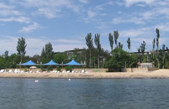 Пляж лагеря Какаду