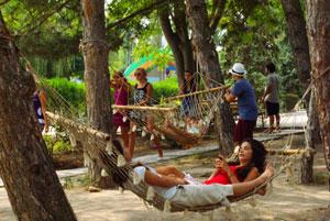 Территория лагеря Какаду