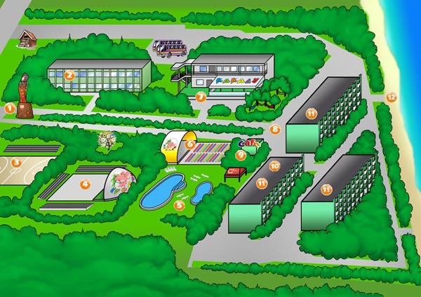 Карта лагеря Какаду